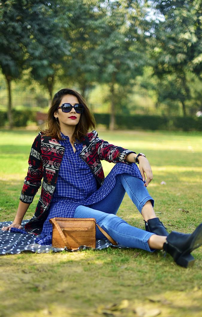 #BuyTheWillsLifestyle | Akanksha Redhu | park sitting