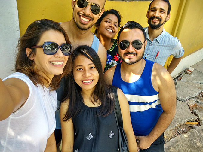 Pondicherry | Akanksha Redhu | wide slefie all