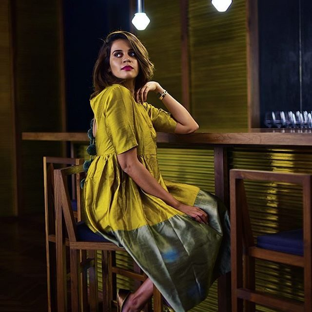 Golden Girl on httpakanksharedhucom wearing theoliostories dress at roseatehouse Pichellip
