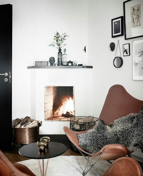Home Inspo | Akanksha Redhu | fireplace