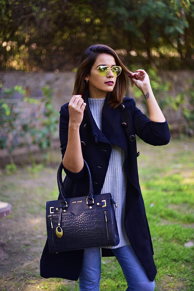 Winter Essentials | Akanksha Redhu | half front hand in hair