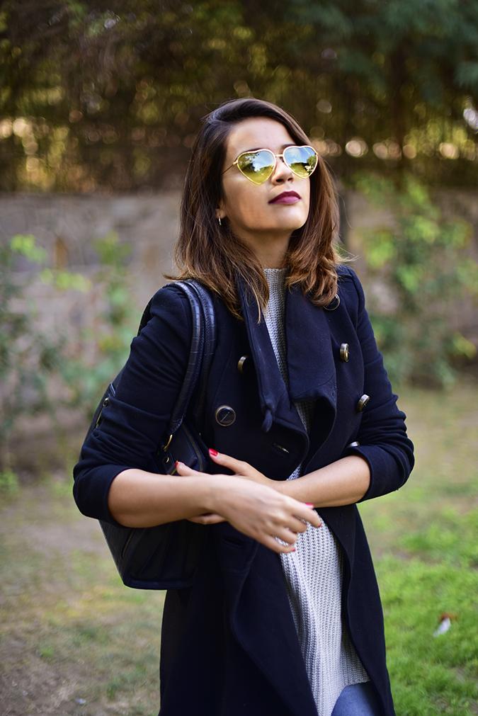 Winter Essentials | Akanksha Redhu | half front head tilted back