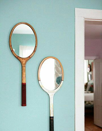 Home Inspo | Akanksha Redhu | tennis mirror