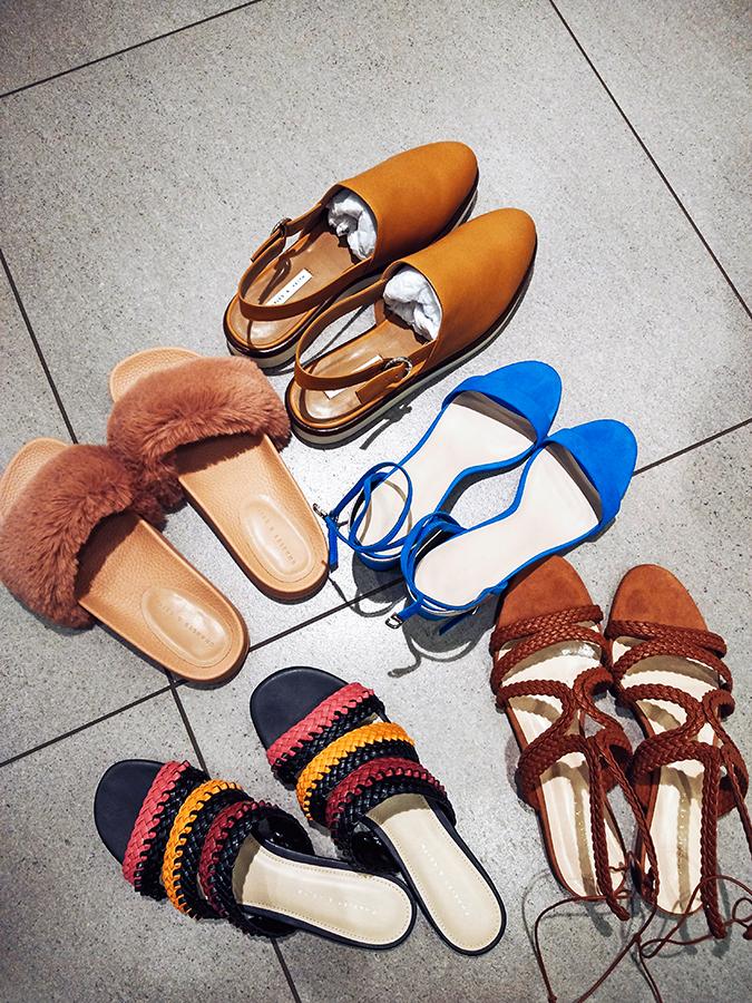 Charles & Keith | Akanksha Redhu | all shoes together