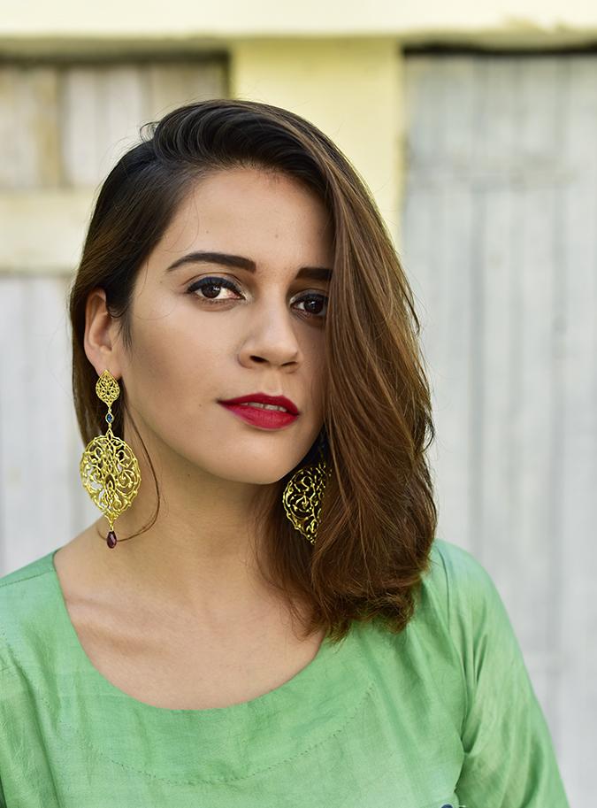 Bhusattva | Akanksha Redhu | face earrings