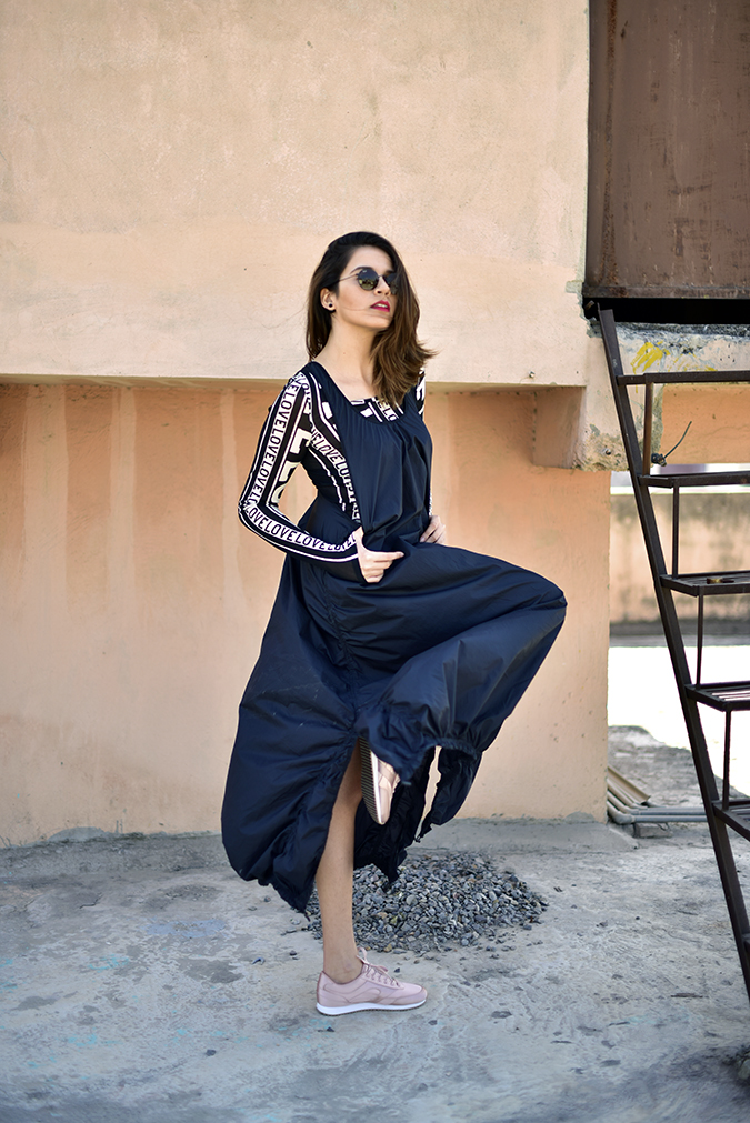 H&M Studio SS17   Akanksha Redhu   full side swan dance