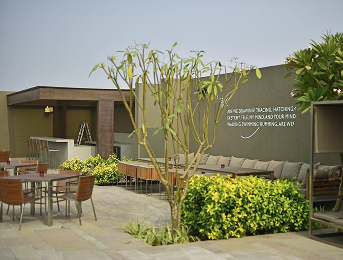 Roseate House   Akanksha Redhu   poolside quote wide