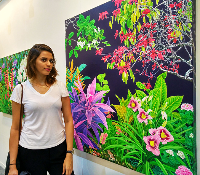India Art Fair | Akanksha Redhu | me with tropical