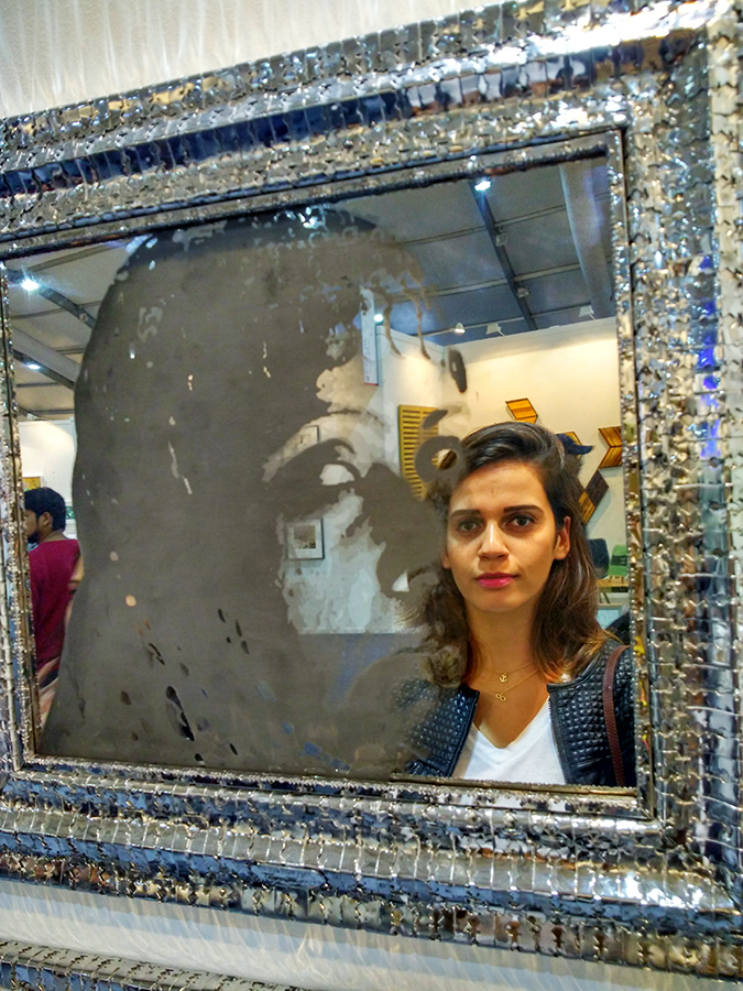 India Art Fair | Akanksha Redhu | mirror