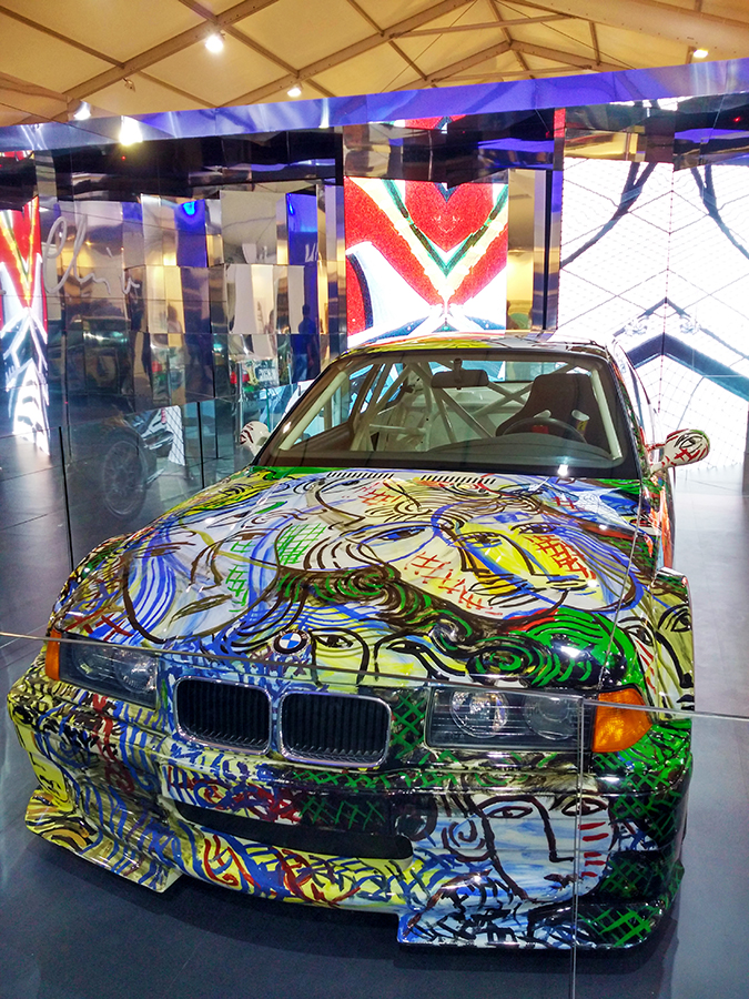 India Art Fair | Akanksha Redhu | bmw