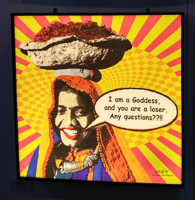 India Art Fair | Akanksha Redhu | goddess loser