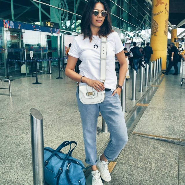 My airport lewk for today  Heading to kairalithehealingvillage inhellip