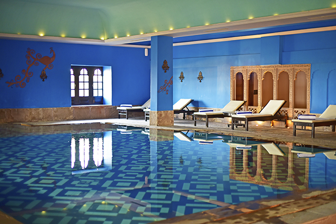 Suryagarh Jaisalmer | Akanksha Redhu | pool wide