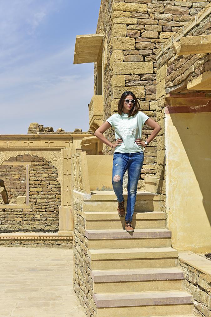 Suryagarh Jaisalmer | Akanksha Redhu | full front fort
