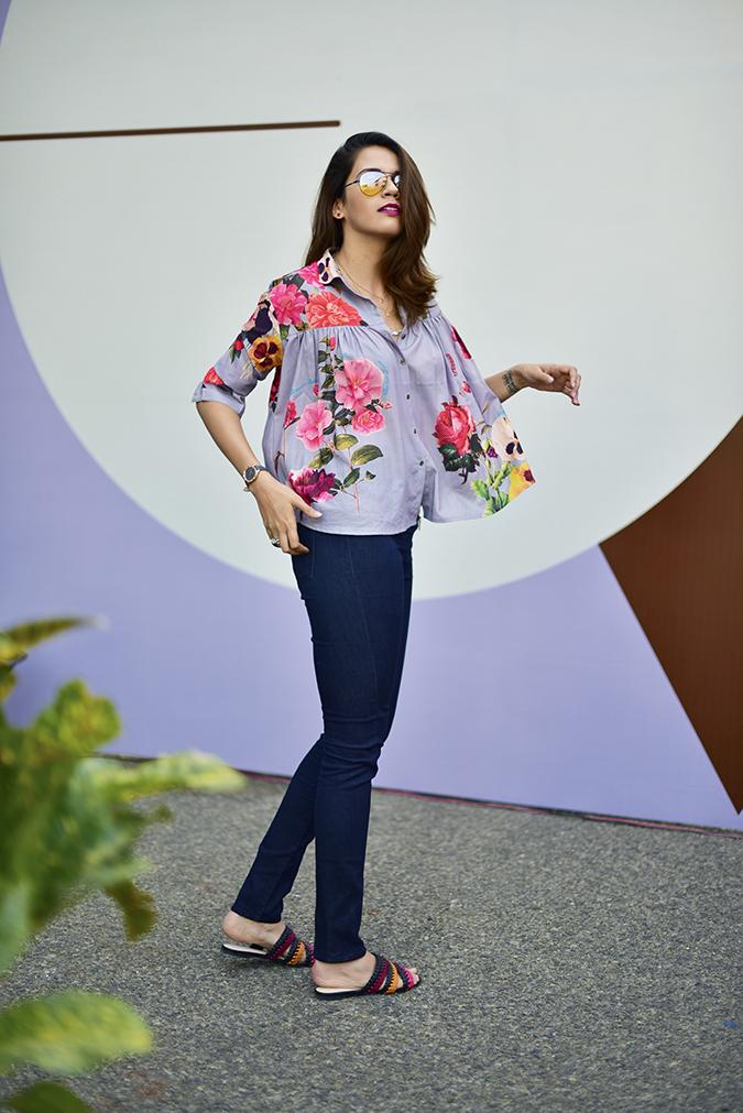 Amazon India Fashion Week | Akanksha Redhu | full side fly
