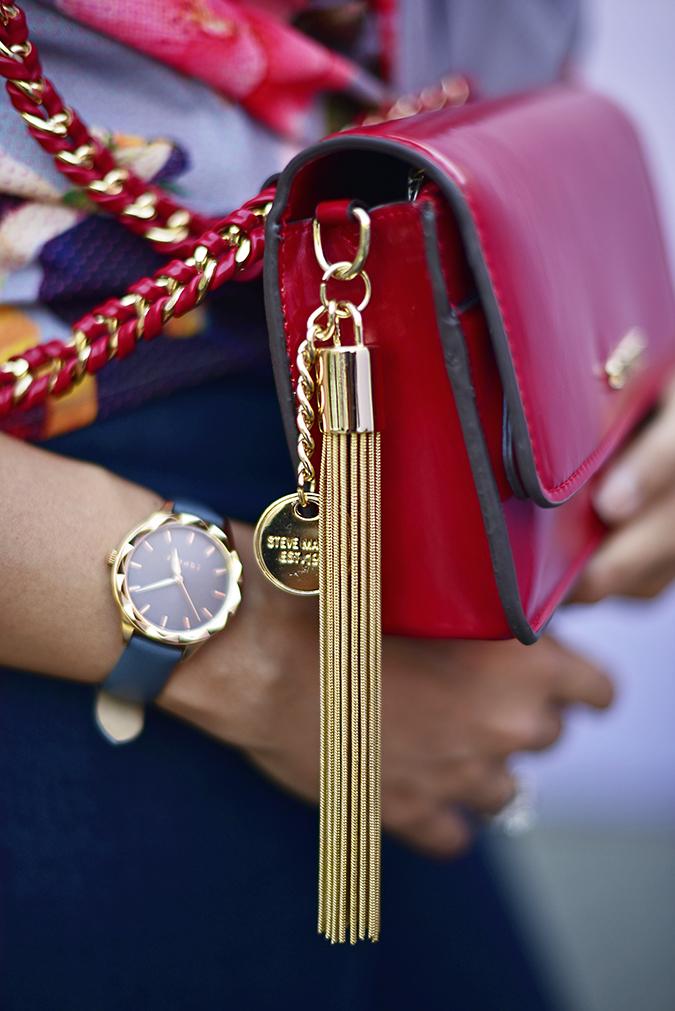 Amazon India Fashion Week | Akanksha Redhu | bag tassle
