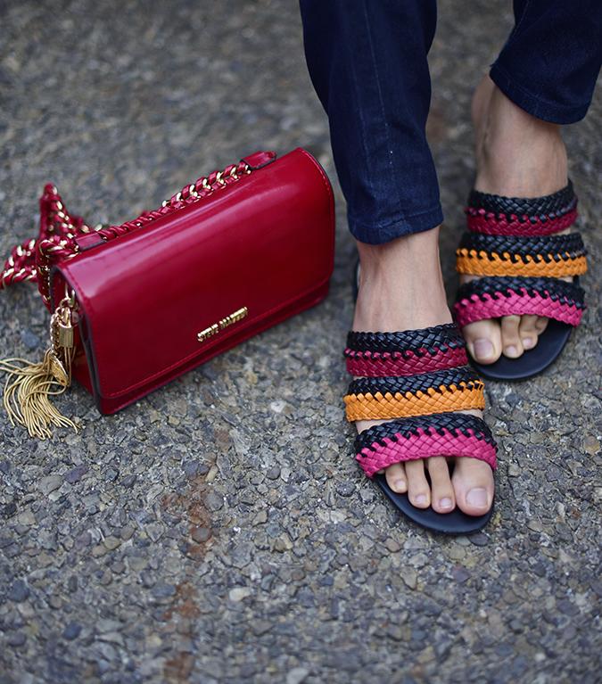 Amazon India Fashion Week | Akanksha Redhu | bag shoes