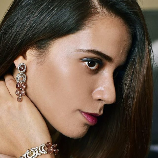 This fresh amp stunning set of fine jewelry by pujashahaurushellip