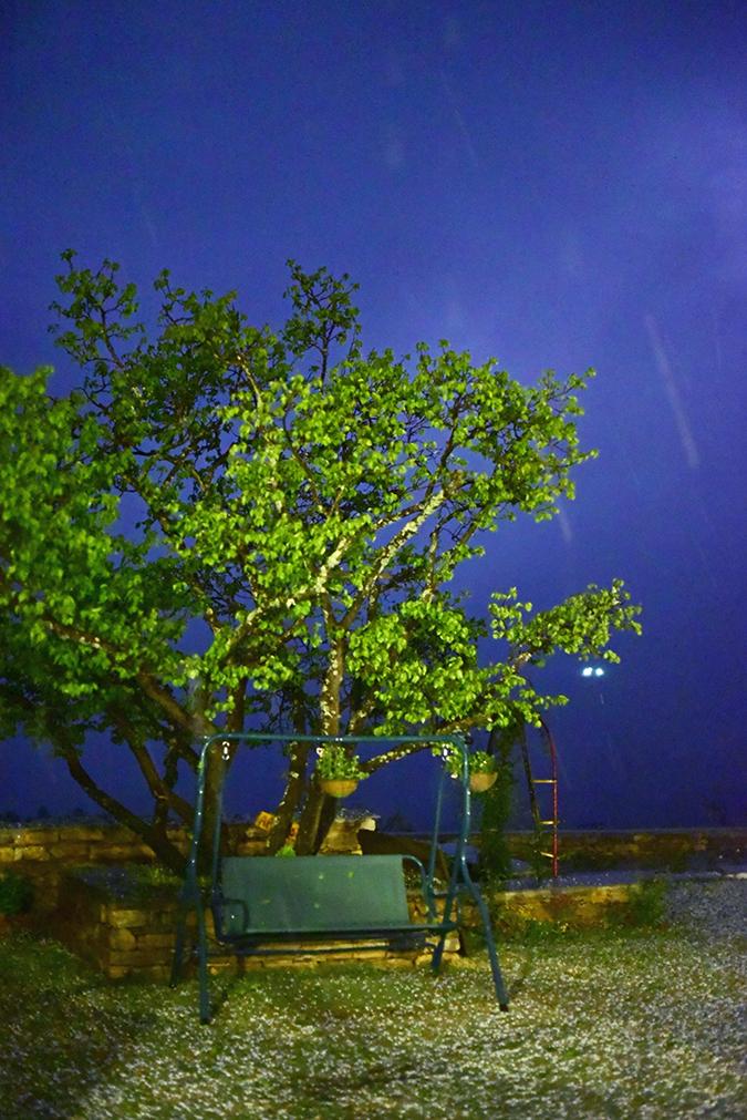 DYO The Organic Village Resort | Akanksha Redhu | lightning sky hail