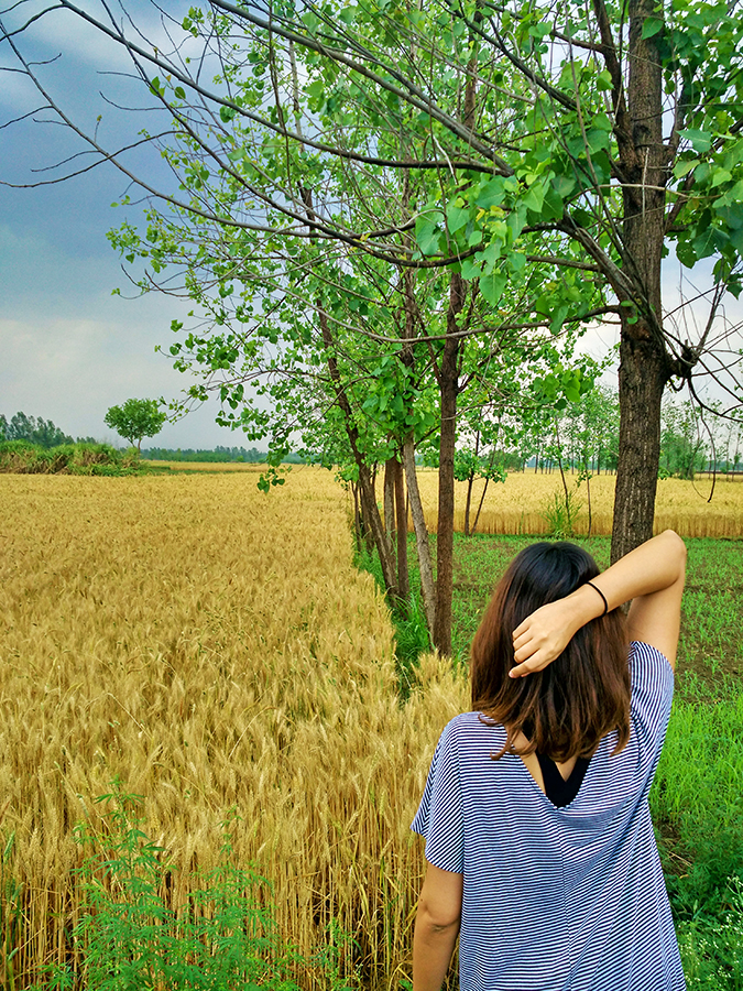 DYO The Organic Village Resort | Akanksha Redhu | striped dress