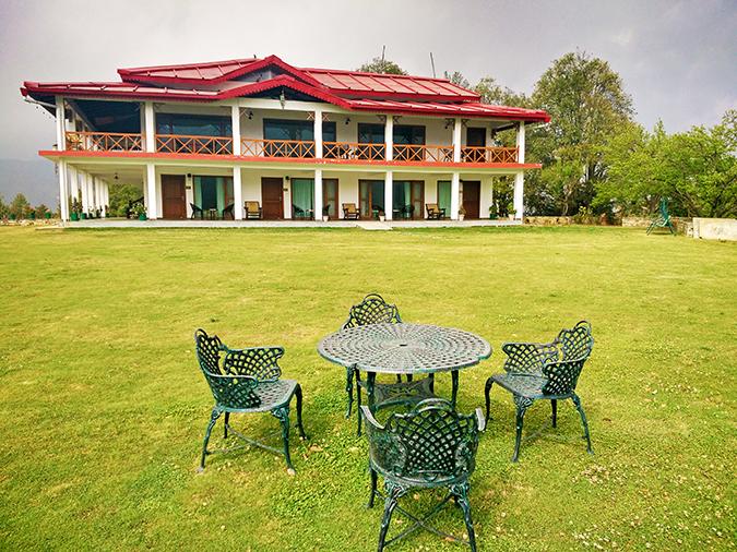 DYO The Organic Village Resort | Akanksha Redhu | chairs garden resort