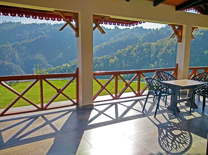 DYO The Organic Village Resort | Akanksha Redhu | cafe terrace